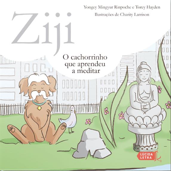 Ziji: o cachorrinho que aprendeu a meditar